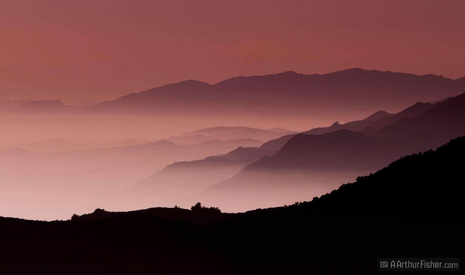 Goleta Evening Fog
