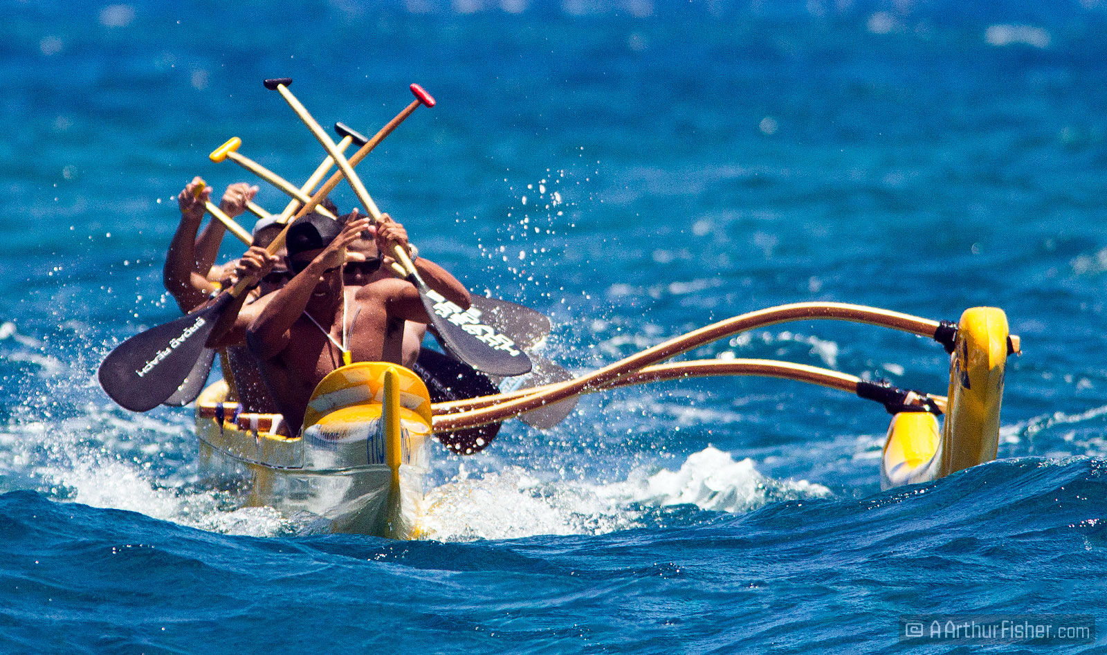 Great Waikoloa Outrigger Canoe Race Champs